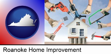 home improvement concepts and tools in Roanoke, VA