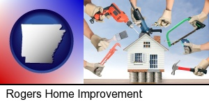 home improvement concepts and tools in Rogers, AR