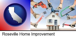 home improvement concepts and tools in Roseville, CA