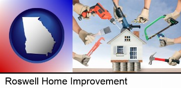 home improvement concepts and tools in Roswell, GA