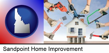 home improvement concepts and tools in Sandpoint, ID