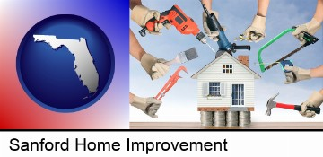 home improvement concepts and tools in Sanford, FL