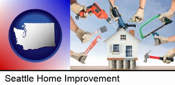 home improvement concepts and tools in Seattle, WA