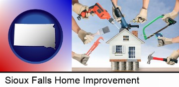 home improvement concepts and tools in Sioux Falls, SD