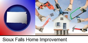 Sioux Falls, South Dakota - home improvement concepts and tools