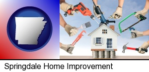 home improvement concepts and tools in Springdale, AR