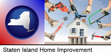 home improvement concepts and tools in Staten Island, NY