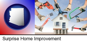home improvement concepts and tools in Surprise, AZ