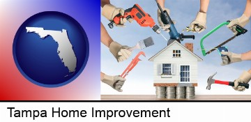 home improvement concepts and tools in Tampa, FL