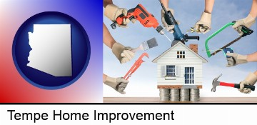 home improvement concepts and tools in Tempe, AZ