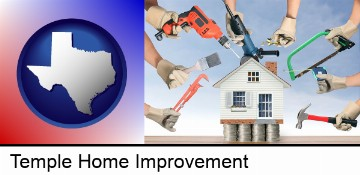 home improvement concepts and tools in Temple, TX