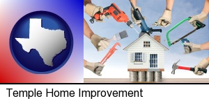 Temple, Texas - home improvement concepts and tools