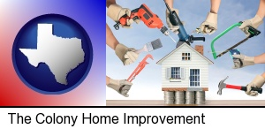 home improvement concepts and tools in The Colony, TX