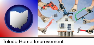 home improvement concepts and tools in Toledo, OH