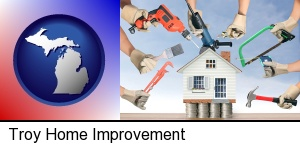 Troy, Michigan - home improvement concepts and tools