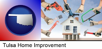 home improvement concepts and tools in Tulsa, OK