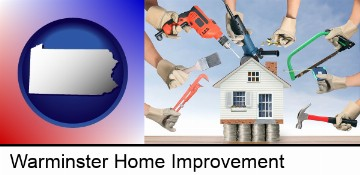 home improvement concepts and tools in Warminster, PA