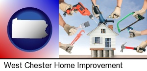 West Chester, Pennsylvania - home improvement concepts and tools