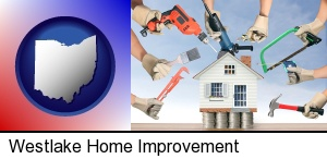 home improvement concepts and tools in Westlake, OH