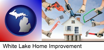 home improvement concepts and tools in White Lake, MI