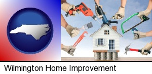 home improvement concepts and tools in Wilmington, NC
