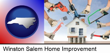 home improvement concepts and tools in Winston Salem, NC