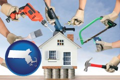 Massachusetts - home improvement concepts and tools