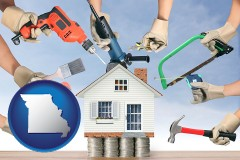 missouri home improvement concepts and tools