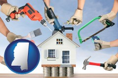 Mississippi home improvement concepts and tools
